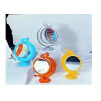 China 2X Moon Shape Cosmetic Magnify Plastic Mirror XJ-92273 wholesale