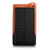 China Ce Rohs Usb Portable Solar Panel Power Bank 7200mah / Solar Panel Charger on sale