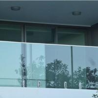 China Modern High Quality Outdoor Stainless Steel Glass Balcony Railing Design wholesale