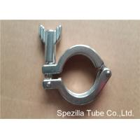 China TP304 ASTM A270 Sanitary Valves And Fittings Stainless Steel Single Pin Heavy Duty Clamp wholesale