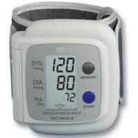 China medical wrist portable blood pressure monitor with Large LCD display on sale