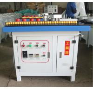 China kdt portable pvc wood mdf straight edge banding machine and glue wholesale