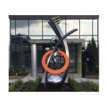 China Fine Art Modern Stainless Steel Sculpture Monumental Sculpture 3D Abstract Guitar wholesale