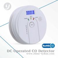 Quality DC 9V Battery CO Alarm Detector With Electrochemistry Sensor CE Approved for sale