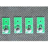 China chip for 53461,53462,53463,53464 ink cartridge  for Primera Label Printer LX1000 and LX2000 Ink Cartridges Set CMYK wholesale