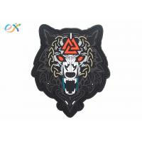 China Morale Tactical PVC Rubber Logo Patch Custom PVC Label For Clothing wholesale