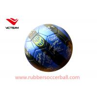 China Sports Machine Stitched Custom Printed Soccer Balls for Club Training  Size 5 Size3 wholesale