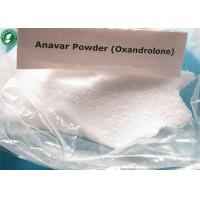 Buy cheap White Powder Oxandrolone Anavar Raw Steroid Powders CAS 53-39-4 For Bodybuilding from wholesalers