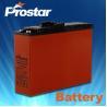 China Prostar front terminal battery 12V 125AH wholesale