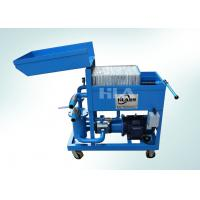 China Dewatering Used Oil Plate Filter Press / Press Filtering Unit / Oil Cleaning Machine wholesale