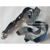 China Neck Strap Reflective Lanyard With Safety Buckle wholesale