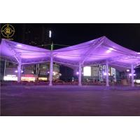 China Mall Atriums Tensile Membrane Canopy Waterproof Tensile Membrane Fabric Structure on sale