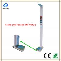 China Digital Height Weight Blood Pressure Measuring Device With BMI Analysys wholesale