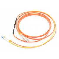 China Duplex 3.0mm Mode Conditioning Patch Cord 3M LSZH Orange For Gigabit Interface Converter wholesale