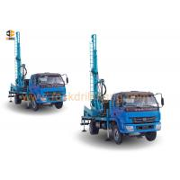 Quality Hard Rock DTH Drilling Water Well Drilling Equipment Rig Mounted On 4 X 2 Truck for sale