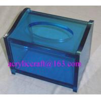 China Practical home & hotel decoration acrylic tissue box produced from China manufacturer wholesale
