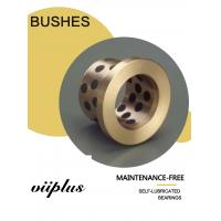 Buy cheap Press & Forging Machineries Graphite Plugged Bronze Bushings Self Lubricating from wholesalers