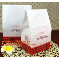 China Customize Translucent Window Brown Greaseproof Kraft Paper Bag Special Opp Window Shape, window bags, greaseproof paper wholesale