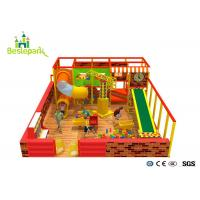 China Kindergarten Baby Indoor Playground Anti - Skid With Custom Made Design wholesale