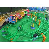 China Mini Snail Shape UFO Roller Coaster Customized Height With Chain Lift Structure wholesale