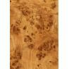 China Wood Grain Decorative Foil Paper Double PU Coating , High Glossy Wood Grain Sticker Paper wholesale