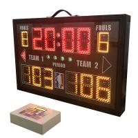 China Light Aluminum Frame Portable Electronic Scoreboard 860mm * 550mm * 100mm wholesale