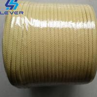 China Kevlar Aramid Rope used on Tamglass Glass Tempering Furnace roller 5.5 x 5.5mm wholesale