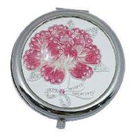 China New Fashion Popular Make up Mirror with Glass Stone wholesale