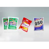 Buy cheap Anti - Counterfeit 3 Side Seal Flat Pouch For Washing Powder With Tear North from wholesalers