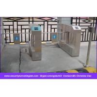 Quality EM card Electronic Swing Turnstile Access Control , One Way / Two Way for sale