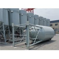 China Steel Storage Bins Sand Cement Powder Hopper Bottom Bins For Dry Mortar Plant wholesale