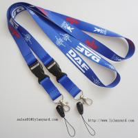 China China Factory for Event Dye Sublimation Lanyard/Heat Transfer Printing Lanyard with Cell phone attachment wholesale