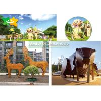 China Activities Kids Outdoor Play Equipment Balance Drilling Swinging Section wholesale