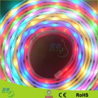 Quality Blue / Red SMD 3528 Waterproof Led Tape Light , Outdoor Led Ribbon Strip Lights for sale