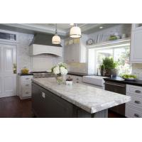 China White Spring Granite Slab Countertop Whites Grays Deep Reds Kitchen Vanity Tops wholesale