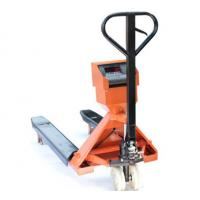 China Powder Coated Steel Pallet Truck Scales 2T Electronic Digital Industrial Pallet Scales wholesale