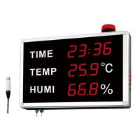 Buy cheap Time Simultaneously Digital Thermometer And Hygrometer For Warehouse And Room from wholesalers