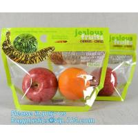 China Micro Perforated Plastic Bag For Vegetable bread fruit, bopp fresh vegetable packaging bag, Clear Fresh Vegetables Packa wholesale