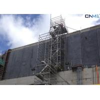 China Aluminium Stair Type Concrete Shoring Systems , Lightweight Scaffolding Systems wholesale