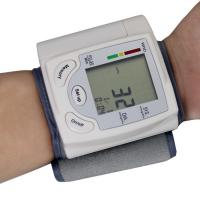China Automatic Digital Wrist Blood Pressure Monitor Heart Beat Meter LCD Display wholesale