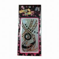 China 2012 new favorable mobile phone sticker wholesale
