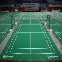 China Enlio mobile badminton flooring with BWF wholesale