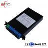 China Lan 1x8 PLC Fiber Optic Splitter Standard LGX Cassette Low Insertion Loss wholesale