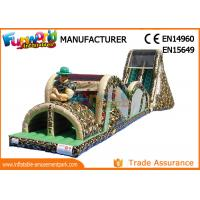 Buy cheap Mega Inflatable Obstacle Course Inflatable Inflatable Assault Course from wholesalers