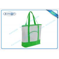 Buy cheap 100% recycled pp non woven  handle shopper shopping bag for carbage from wholesalers