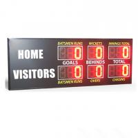 China Traditional Aussie Rules AFL Electronic Scoreboard  900MM X 2650MM X 100MM wholesale