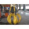 China High Efficient Orange Peel Electro Hydraulic Grabs 17 Ton - 23 Ton wholesale