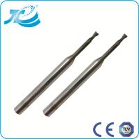 China Carbide Flat End Mill for Deeper Cutting , 1mm 2mm 3mm End Mill wholesale