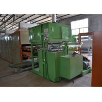 China Paper Pulp Moulding Egg Tray Production Line 1000pcs/Hour Automated Operation on sale