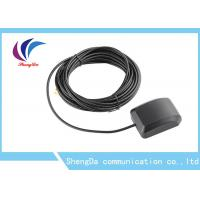 China Hign Gain Auto GPS Antenna 1575.42MHZ Navigaiton Signal SMA Connector With Booster wholesale
